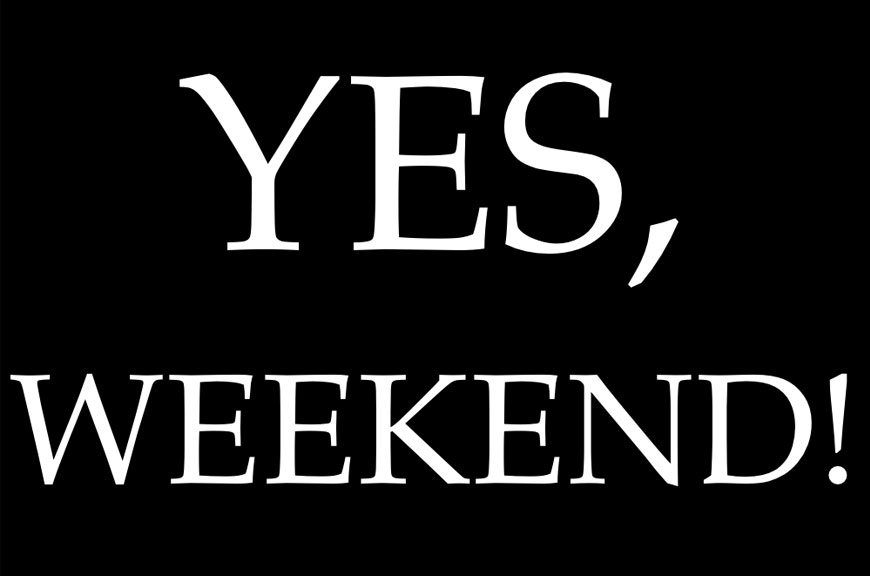18 SETTEMBRE 2015 - Yes Weekend