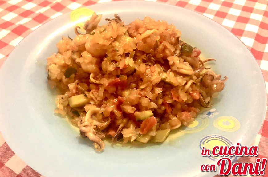RISOTTO LOW CARB MARE E ORTO